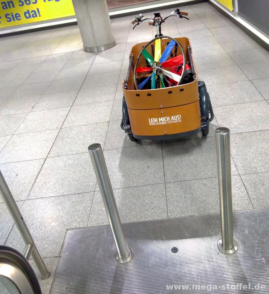 Endstation irgendwo mittendrin im Flughafen/Messe