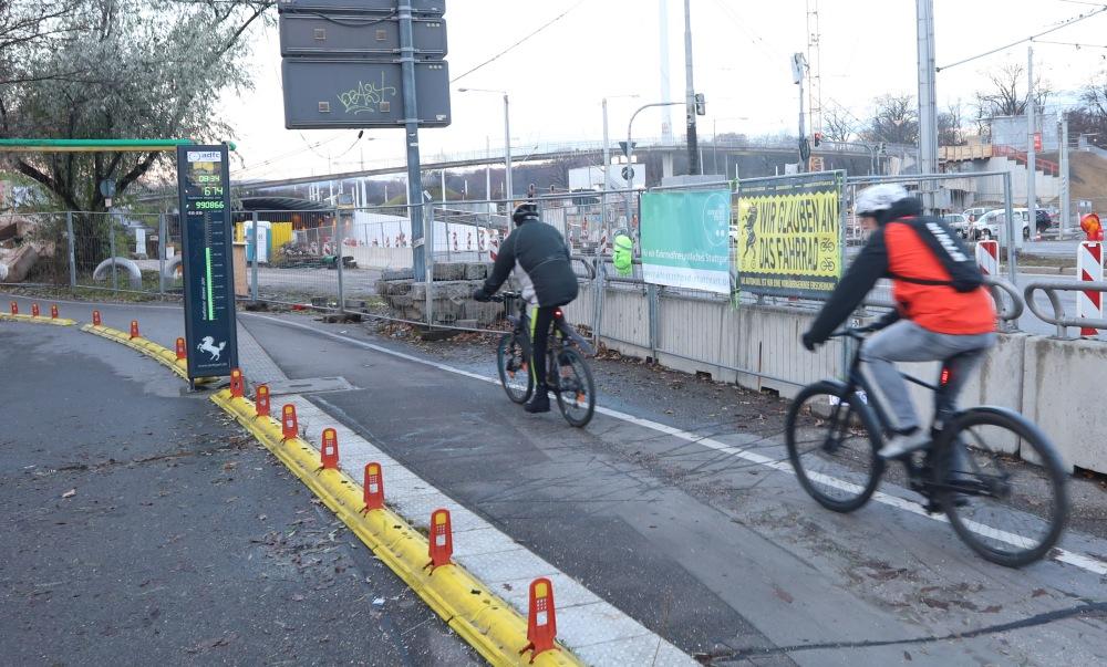 eine Millionen Radfahrer:innen!
