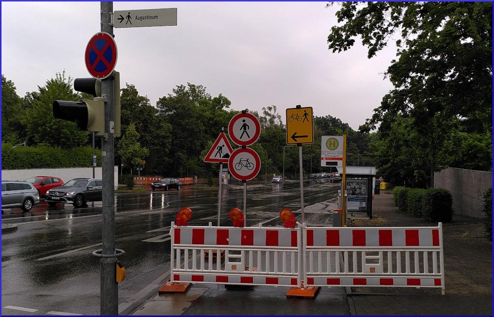 Baustelle an der Stresemannstraße