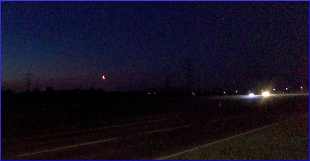 Mondfahrt: der Mond!
